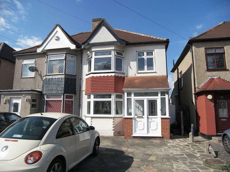 3 Bedrooms Semi Detached House for sale in STRADBROKE GROVE, CLAYHALL IG5
