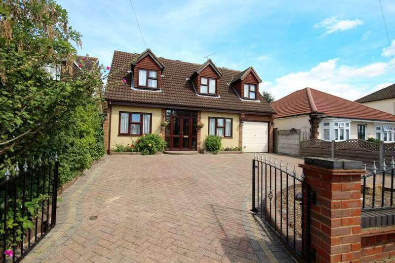4 Bedrooms Detached House for sale in Felstead Road, Collier Row