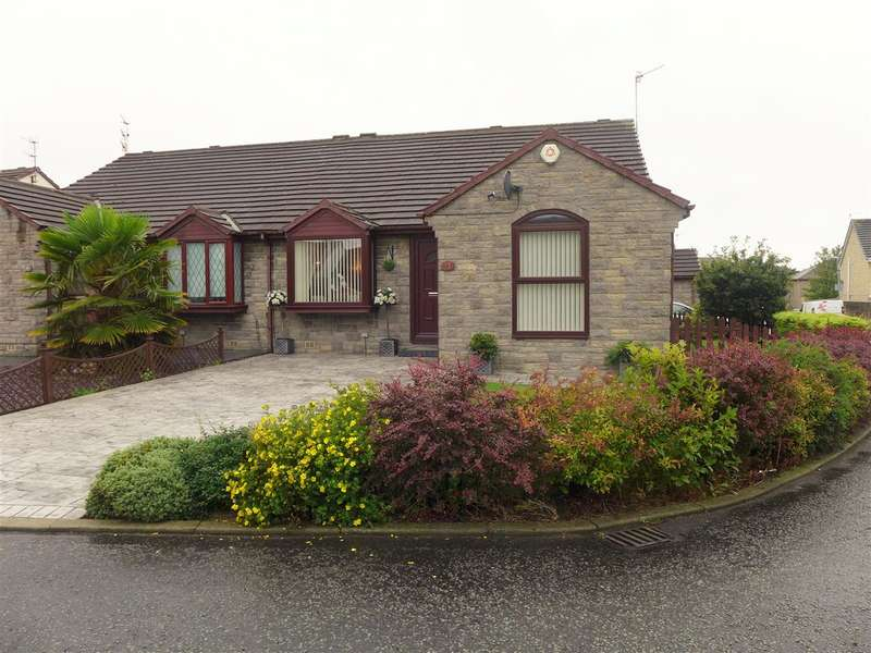3 Bedrooms Semi Detached Bungalow for sale in Lowerfields, Lowerhouse, Burnley