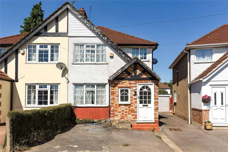3 Bedrooms Semi Detached House for sale in Misbourne Road, Hillingdon, Middlesex, UB10