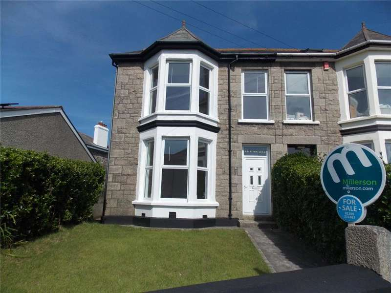 4 Bedrooms Semi Detached House for sale in Pednandrea, Redruth