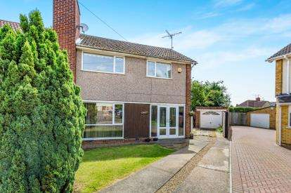3 Bedrooms Semi Detached House for sale in Barnard Close, Duston, Northampton, Northamptonshire