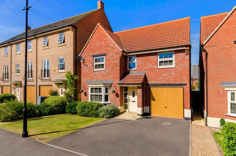 4 Bedrooms Detached House for sale in Watt Avenue, Colsterworth, Grantham, NG33