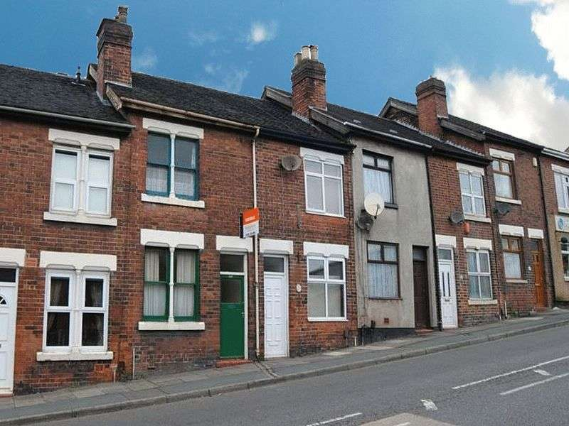 2 Bedrooms Terraced House for sale in Anchor Road, Longton, Stoke-On-Trent, ST3 1JY