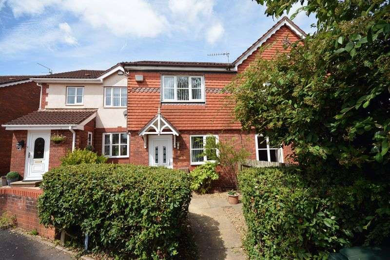2 Bedrooms Terraced House for sale in Foxberry Close, Pontprennau, Cardiff