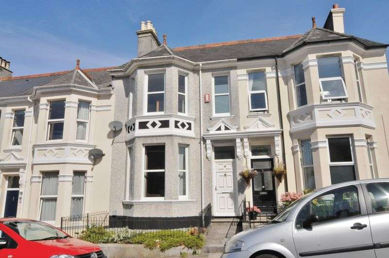3 Bedrooms Terraced House for sale in Glendower Road, Plymouth. Spacious and well presented Peverell Home.