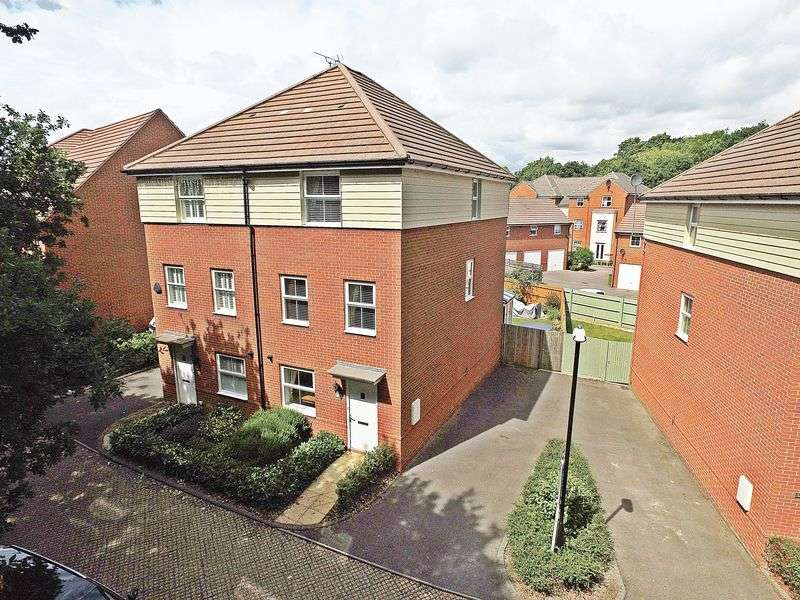 4 Bedrooms Semi Detached House for sale in Castilian Way, Whiteley
