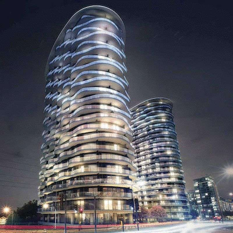1 Bedroom Flat for sale in Hoola West Tower