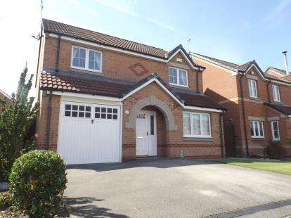 4 Bedrooms Detached House for sale in Roods Close, Sutton-In-Ashfield, Nottinghamshire