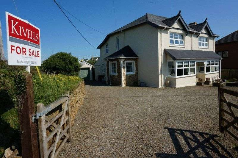 4 Bedrooms Detached House for sale in Upton, Bude
