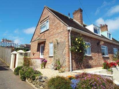 3 Bedrooms Semi Detached House for sale in Salcombe, Devon