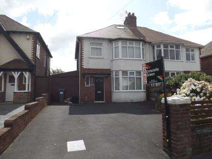 3 Bedrooms Semi Detached House for sale in Warbreck Hill Road, Blackpool, Lancashire, ., FY2