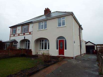 3 Bedrooms Semi Detached House for sale in Mossom Lane, Thornton-Cleveleys, Lancashire, FY5