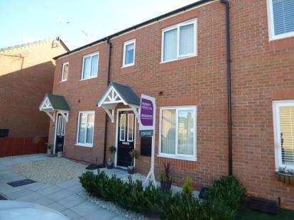 2 Bedrooms Terraced House for sale in Tudor Court, Fagyl Lane, Wrexham, LL12