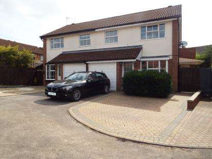 4 Bedrooms Semi Detached House for sale in Bishops Close, Brackley, Northamptonshire