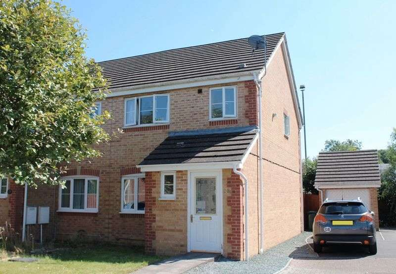 3 Bedrooms Terraced House for sale in Bluebell Drive, LLANHARAN, CF729UN