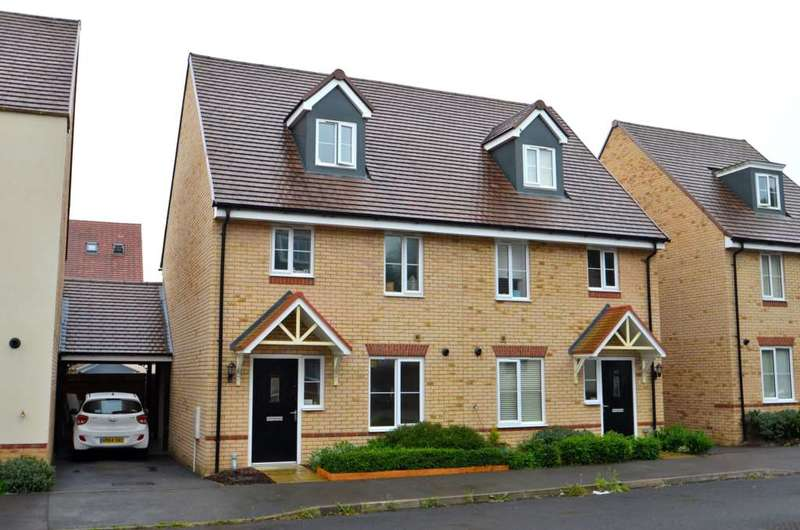3 Bedrooms Semi Detached House for sale in Grenada Crescent, Newton Leys