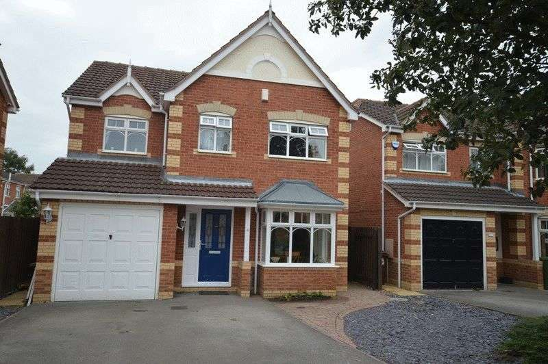 4 Bedrooms Detached House for sale in Sunningdales, Normanton