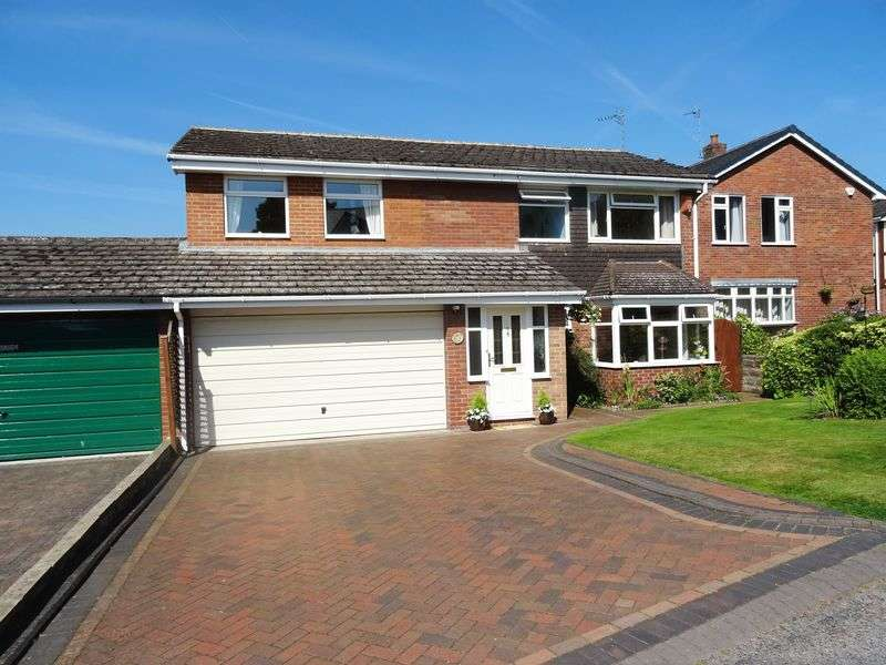 5 Bedrooms Detached House for sale in Top Road, Stafford