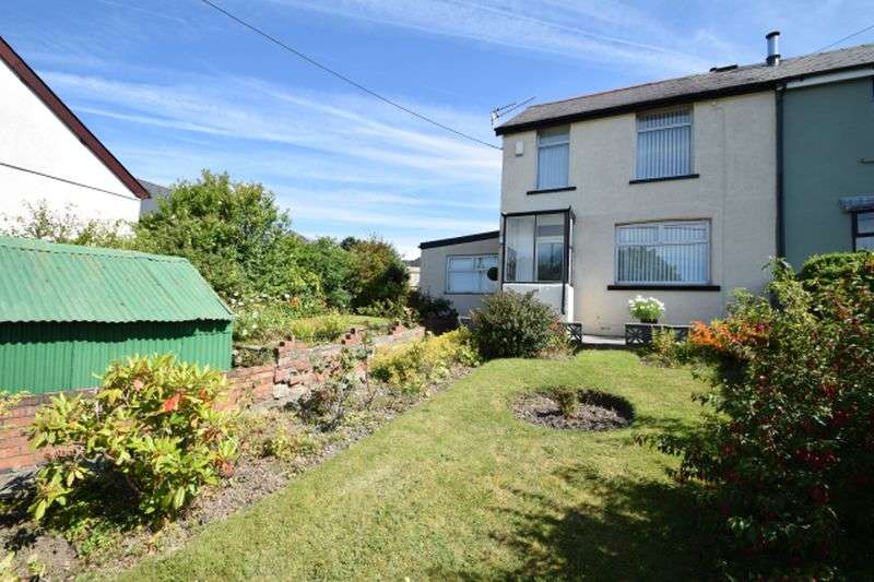 3 Bedrooms Semi Detached House for sale in Gelli Rhwy Road, Pontypool