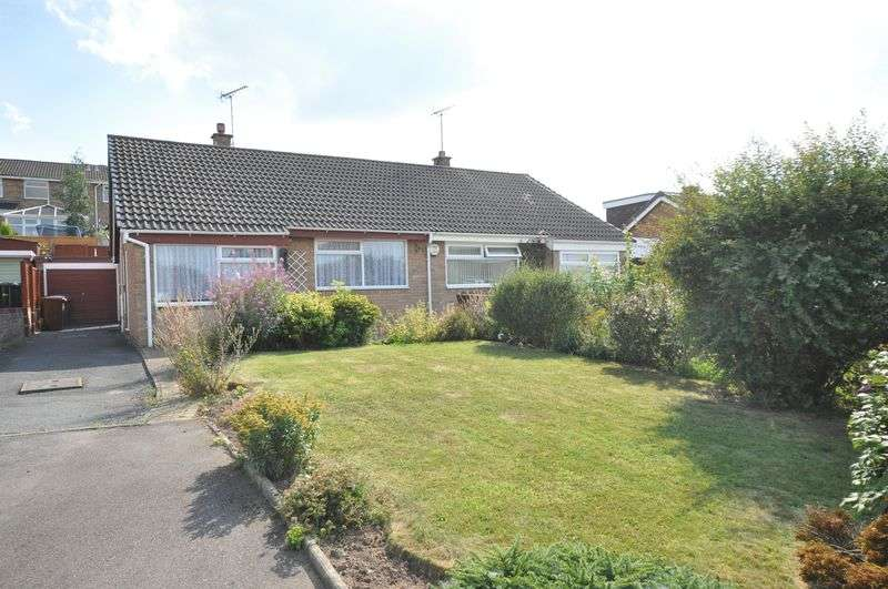 2 Bedrooms Semi Detached Bungalow for sale in Hawks Drive, Winshill