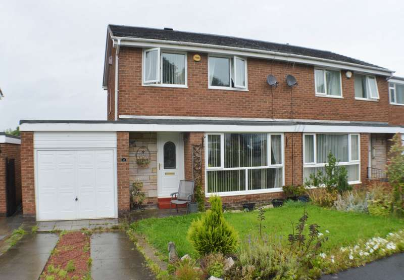 3 Bedrooms Semi Detached House for sale in Sycamore Grove, Prudhoe, NE42