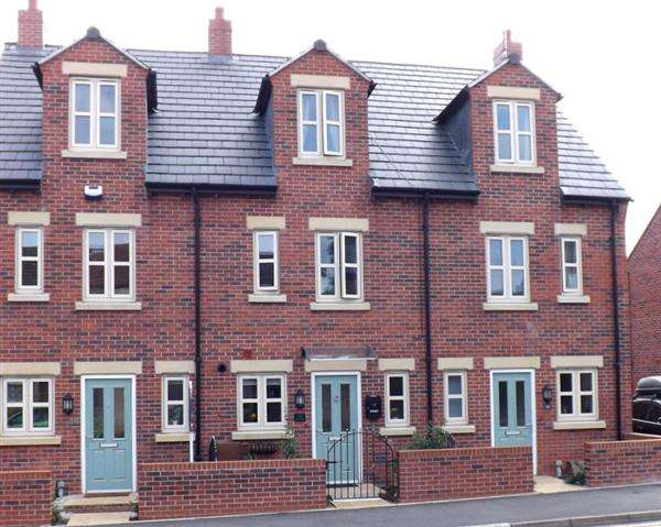 3 Bedrooms Town House for sale in Rectory Road, Clowne, Chesterfield