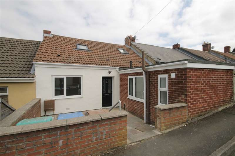 3 Bedrooms Terraced Bungalow for sale in Fourth Street, Watling Bungalows, Leadgate, Consett, DH8
