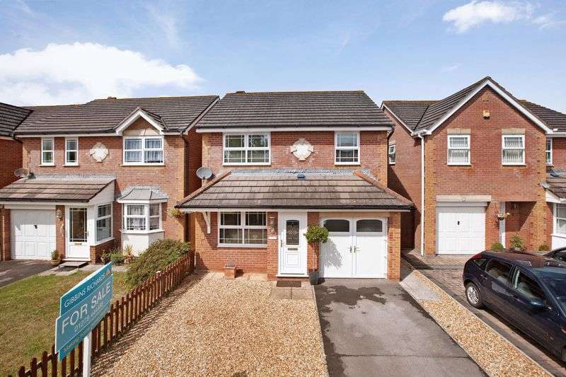 3 Bedrooms Detached House for sale in Nicholls Close, Bridgwater