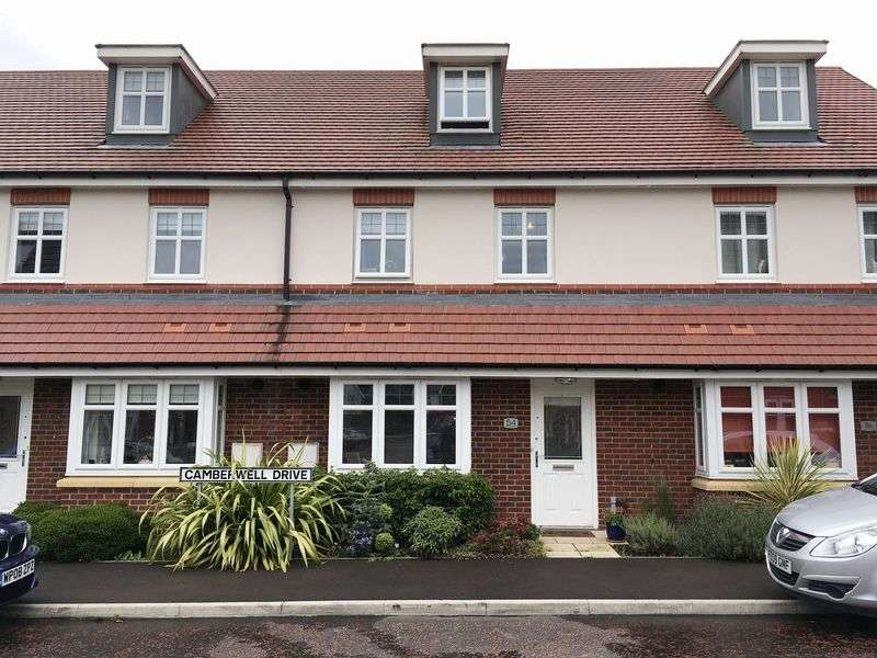 3 Bedrooms Terraced House for sale in Camberwell Drive, Walton Locks, WA4 6FE