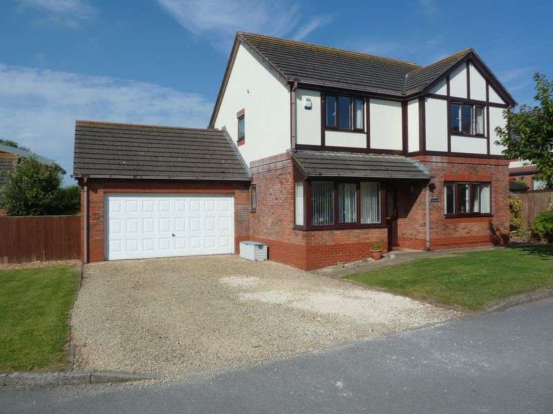 4 Bedrooms Detached House for sale in Halley Court, Rhoose