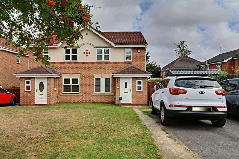 3 Bedrooms Semi Detached House for sale in Sandmoor Close, Hull