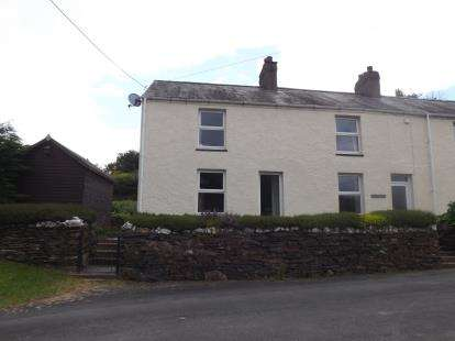 3 Bedrooms Semi Detached House for sale in Tan Y Marian, Soar, Talsarnau, Gwynedd, LL47