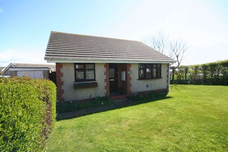 2 Bedrooms Detached Bungalow for sale in Pen Gerddi, Holyhead, Anglesey