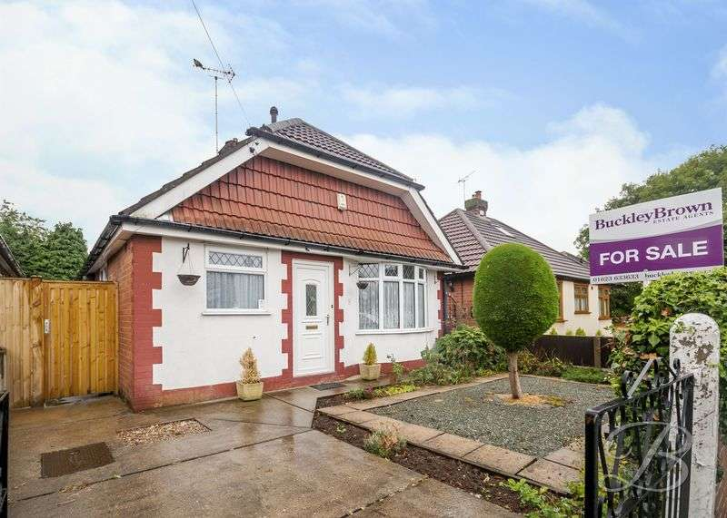 2 Bedrooms Detached Bungalow for sale in Cromford Avenue, Mansfield