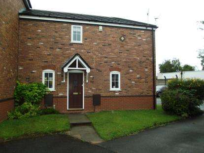 2 Bedrooms Terraced House for sale in Daisy Bank Mill Close, Culcheth, Warrington, Cheshire