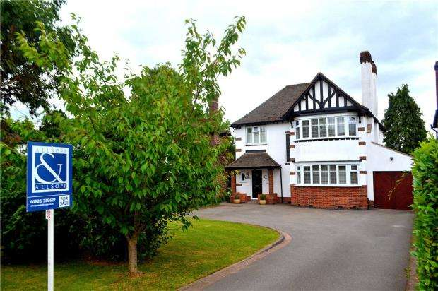 4 Bedrooms Detached House for sale in Glasshouse Lane, Kenilworth, Warwickshire