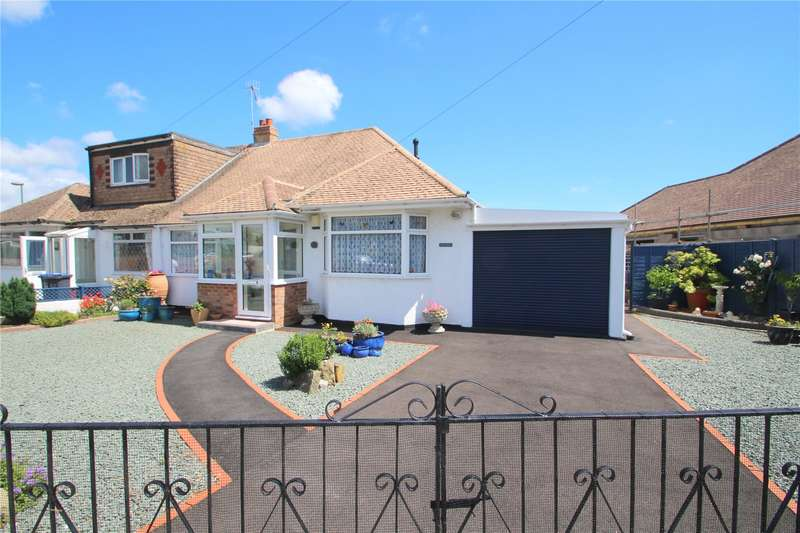 3 Bedrooms Semi Detached Bungalow for sale in Upper Boundstone Lane, Lancing, West Sussex, BN15