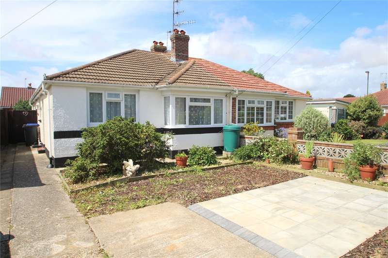 2 Bedrooms Semi Detached Bungalow for sale in Wembley Avenue, Lancing, West Sussex, BN15