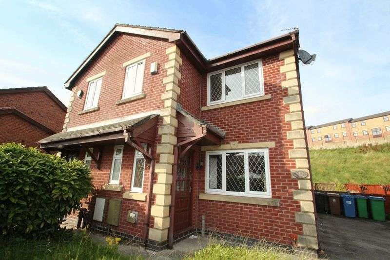 3 Bedrooms Semi Detached House for sale in Ropefield Way, Rochdale OL12 6DP