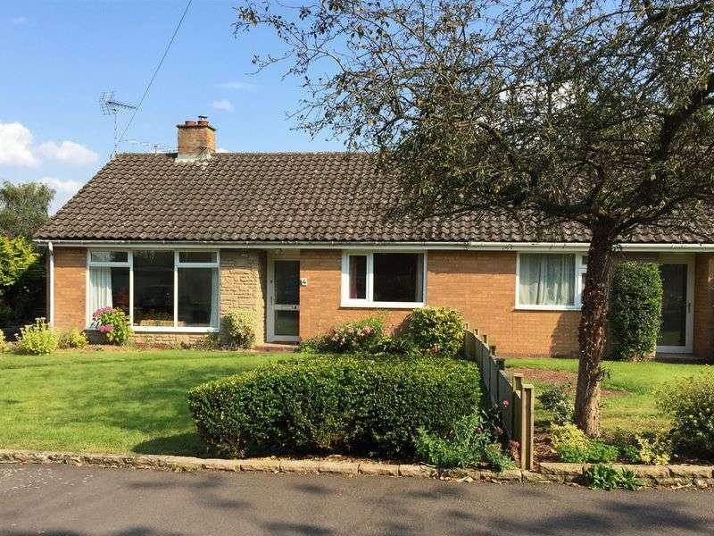 2 Bedrooms Semi Detached Bungalow for sale in Jasmine Road, Great Bridgeford, Staffordshire