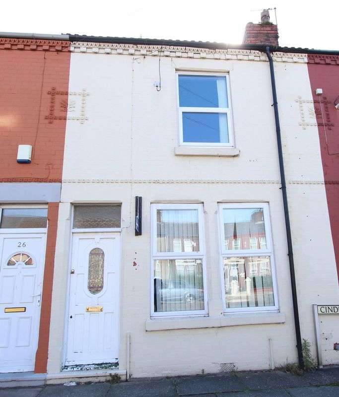 2 Bedrooms Terraced House for sale in Cinder Lane, Bootle