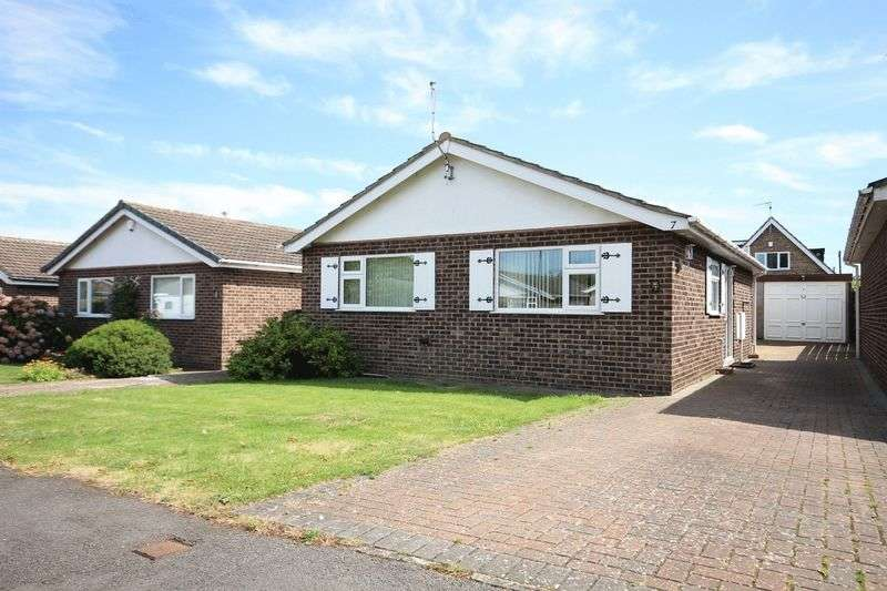 2 Bedrooms Detached Bungalow for sale in WALNUT CLOSE, ASTON ON TRENT