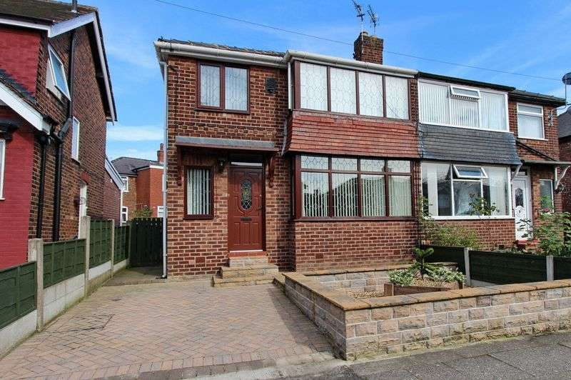 3 Bedrooms Semi Detached House for sale in Holyrood Road, Prestwich, Manchester