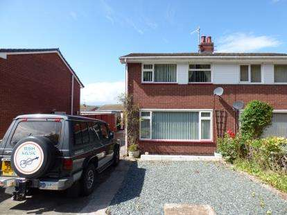3 Bedrooms Semi Detached House for sale in Narrow Lane, Llandudno Junction, Conwy, North Wales, LL31