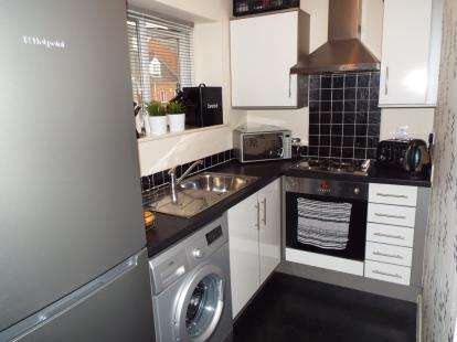 1 Bedroom Flat for sale in Pavior Road, Nottingham, Nottinghamshire