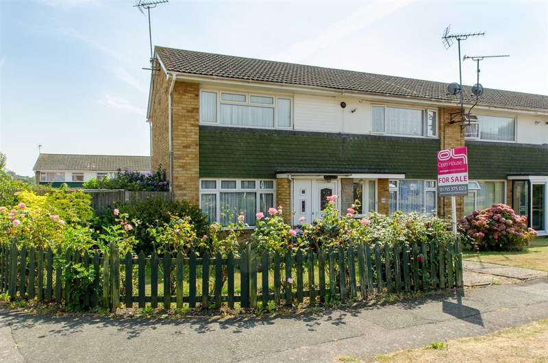 2 Bedrooms End Of Terrace House for sale in Woollett Road, Sittingbourne