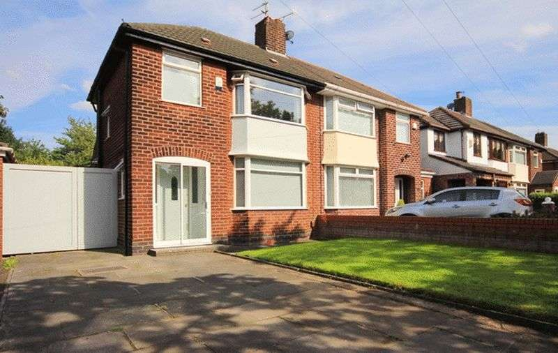 3 Bedrooms Semi Detached House for sale in Bowland Avenue, Childwall, Liverpool, L16