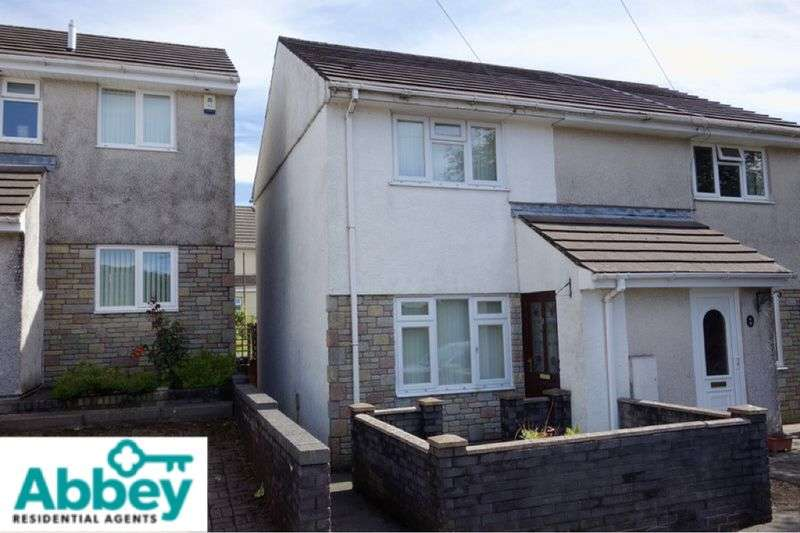 2 Bedrooms Semi Detached House for sale in Brunel Close, Tonna, Neath, SA11 3JY