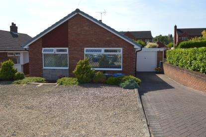 3 Bedrooms Bungalow for sale in Mavesyn Close, Hill Ridware, Rugeley, Staffordshire